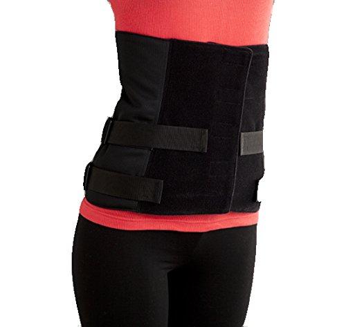 腹圧を高めて骨盤を補正するベルト【アセットプラスロング】 男性:S(65cm~75cm) ブラック B00QF5WXBI