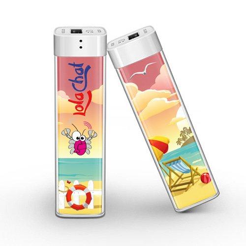 103 opinioni per Power Bank colorato LolaChat Pizzico: caricabatterie portatile universale