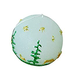 Homankit Silicone Ball Christmas Candle Molds/Soap