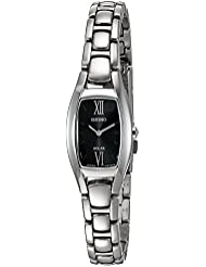 Seiko Womens Sport Quartz Stainless Steel Dress Watch, Color:Silver-Toned (Model: SUP317)