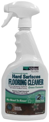 Shaw® R2X® Green Formula Hard Surfaces Flooring Cleaner - 32oz Spray - Shaw Green