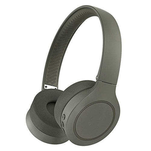 XHKCYOEJ Headset Stereo Headset/Headphones/Headphones/Wireless/Bluetooth/Music,Military Green: Amazon.co.uk: Electronics