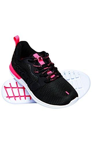 Superdry Damen Core Runner 02a Hyper Black Schwarz Fitnessschuhe rrxnBRqwv