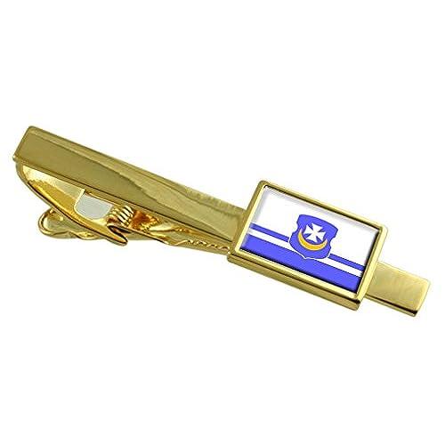 9ddce90946 Delicado La ciudad de Orsha Bielorrusia bandera Gold Clip de corbata  personalizada grabado