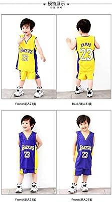 Maillots de Baloncesto para Niños - Conjunto NBA Bulls Jordan#23 ...