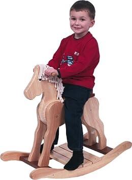 Pintoy - Grand cheval à bascule: Amazon.fr: