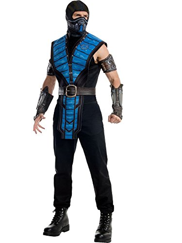 Rubie's Men's Mortal Kombat X Sub-Zero Costume, Multi, Standard for $<!--$31.81-->