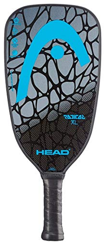 HEAD Graphite Pickleball Paddle - Radical XL Lightweight Paddle w/Honeycomb Polymer Core & Comfort Grip