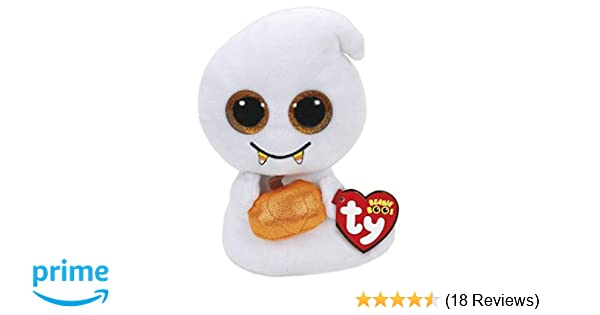 4f958334278 Amazon.com  TY Beanie Boo - Scream Halloween Ghost Plush Toy (5.9 Inches)   Toys   Games