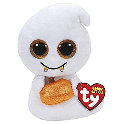 fb3edc4d955 Amazon.com  TY Beanie Boo - Scream Halloween Ghost Plush Toy (5.9 Inches)   Toys   Games