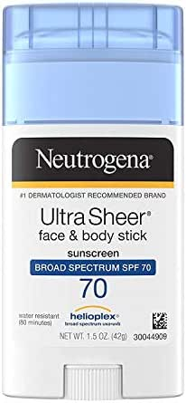Sunscreen & Tanning: Neutrogena