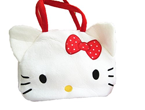 Hmlover Cute Plush Handbag Shoulder Bag Maternity Mummy Shopping Baggy Satchel Diaper Bag Hello Kitty L by Hmlover®