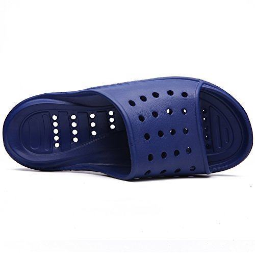 Shoes Shower Slip Men's Blue Fashion Indoor Women's Quick Drying for Slippers Sandal L Silk Non Bathroom Slipper Home 1O1Aq
