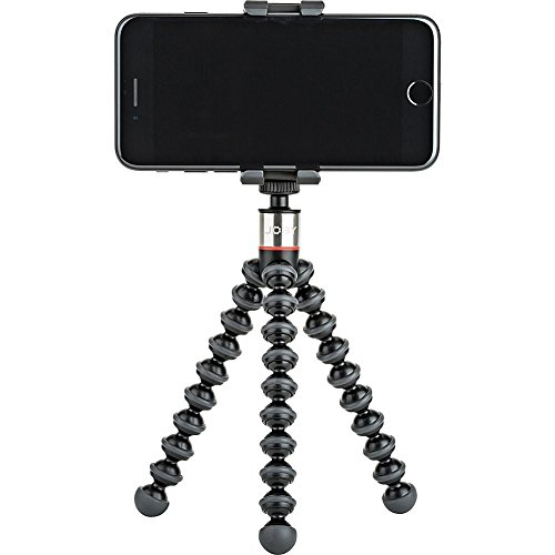 GripTight ONE GorillaPod Stand: Flexible Tripod and Mount for Smartphones from iPhone SE to iPhone 8 Plus, Google Pixel, Samsung Galaxy S8 and More