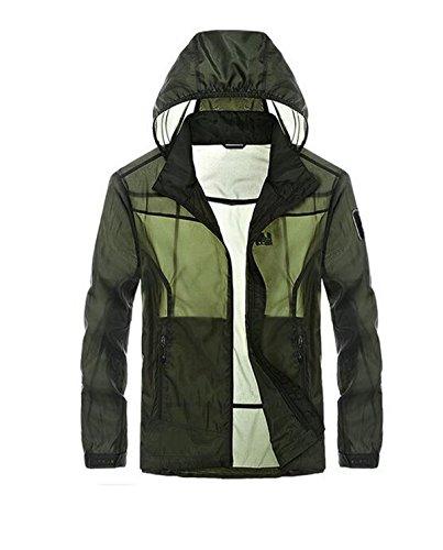 Essiccazione Green2 Pelle Contro Vento Giacca Outdoor Sottile Maschile A Upf30 SRztIxqw