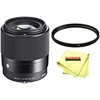 Sigma 30mm F1.4 Contemporary DC DN Lens for SONY E Mount Cameras + Sunshine Starter Pack