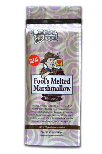 The Coffee Fool Fool's Whole Bean, Decaf Melted Marshmallow, 12 Ounce (Coffee Fool Decaf Whole Bean compare prices)