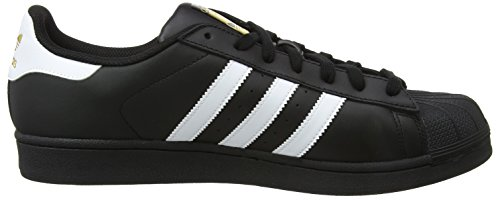 Schwarz Unisex Core White Superstar Core Black Foundation adidas Erwachsene Black Top Ftwr Low 1YfUqUw