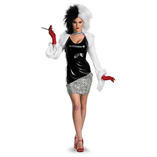 Costumes For All Occasions DG27214E 101 Dalmatians Sassy Cruella De Vil Adult 12-14 by TOP