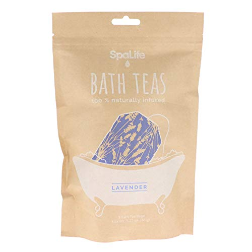 SpaLife Naturally Infused Bath Tea (3 Pack) ()