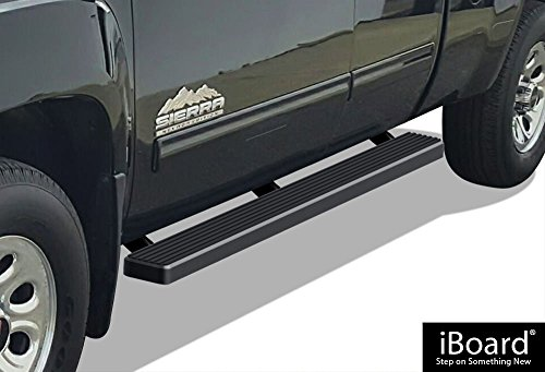 APS IB-C4004B Matte Black iBoard Bolt Over for select Chevrolet Silverado 1500 Models