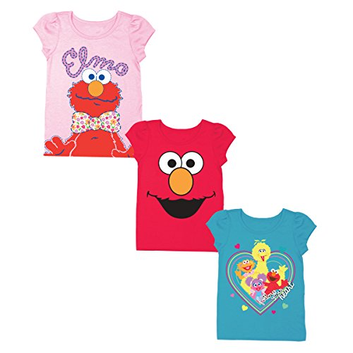 Elmo Girl Clothes - Sesame Street Little Girls' Toddler 3