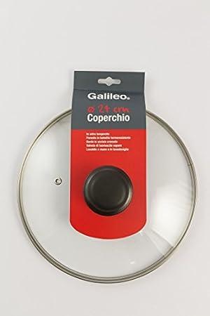 /Couvercle 16 cm Verre Galileo Casa Casseroles et couvercles/