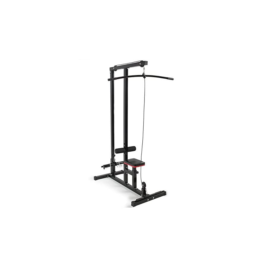 Akonza Lat Machine Low Row Cable Pull Down Fitness Closed Handle Attachment Pulldown