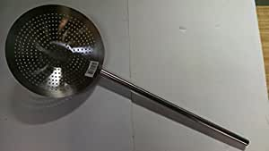 11 3/4 Inch Wide Colander with 22 1/2 Inch Handle 33 1/2 Inch Total Length