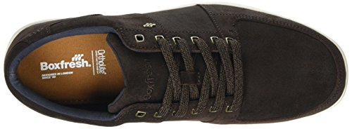 Boxfresh Herren Spencer Dk Navy Braun Brown Sneaker zfvxncR6z