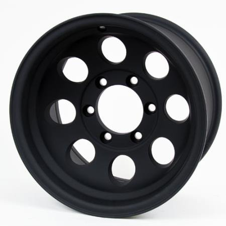 Pro Comp Alloys Series 69 Wheel with Flat Black Finish (10 X 8 Aluminum Wheel)
