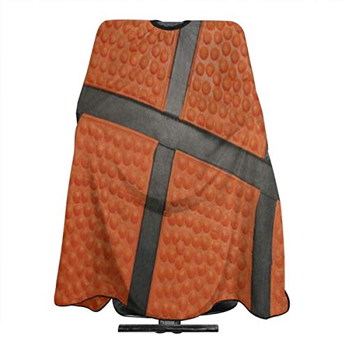 Orange Sport Ball Basketball Salon Hair Cutting Cape Cloth Great Perm Apron For Profession Barbershop