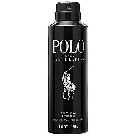 Polo Black By Ralph Lauren Body Spray For Men 6 Oz