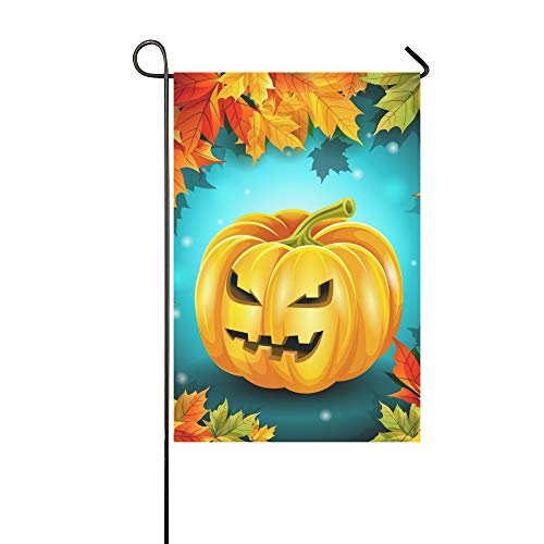 WUTMVING Home Decorative Outdoor Double Sided Quality Poster Holiday Halloween Garden Flag,House Yard Flag,Garden Yard Decorations,Seasonal Welcome Outdoor Flag 12 X 18 Inch Spring Summer Gift]()