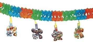 Folat - Guirnalda decorativa de cartón con banderillas para ...