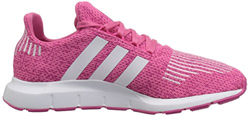 adidas Originals Baby Swift Running Shoe, White/semi Solar Pink, 4K M US Toddler by adidas Originals (Image #6)