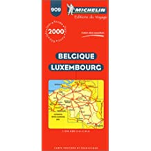 Michelin Belgium Luxemburg Map