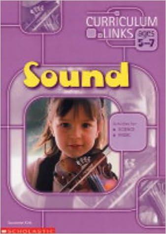 Sound (Curriculum Links)
