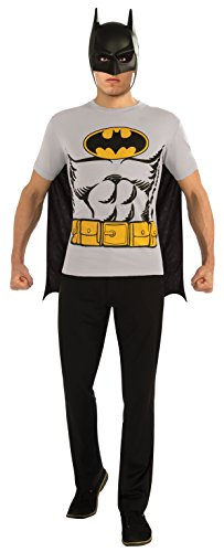DC-Comics-Batman-T-Shirt-With-Cape-And-Mask