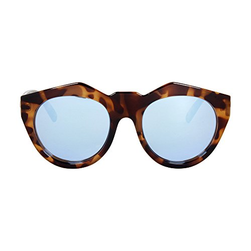 Le Specs Neo Noir LSP1402001 Rectangular Sunglasses, Milky Tortoise, 55 - 2014 Mens Sunglasses