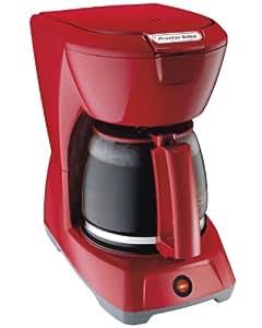 Hamilton Beach 43603 - Cafetera (Cafetera de filtro, Rojo, 12 tazas, De café molido, Café)