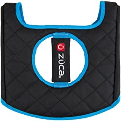 Seat Cushion Color: Blue / Black