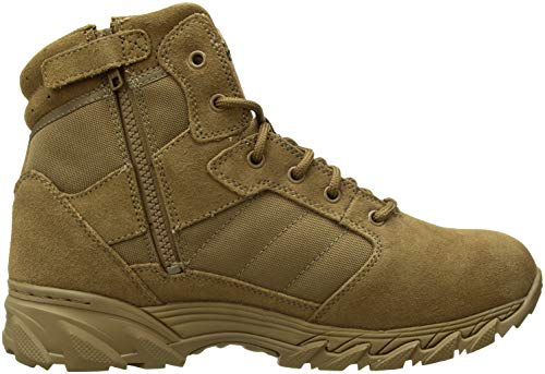 Smith & Wesson Men's Breach 2.0 Side Zip Tactical Boots, Coyote, 12