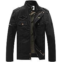 WenVen Men's Fashion Cotton Jackets