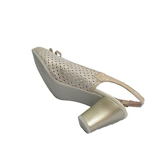 En Ouverte À Derrière Beig Femme La Combinées Chaussure Pitillos RgH0qx