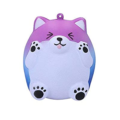 Elaco Squeeze Cute Bear Slow Rising Cream Scented Decompression Toys PU Toy Galaxy Star Color: Toys & Games
