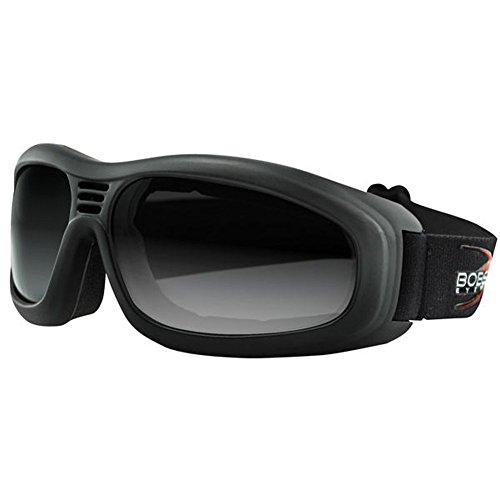 2014 Bobster Touring 2 Motorcycle Goggles - Smoke