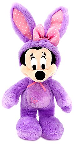 306dc89655a Amazon.com  Disney Scented Minnie Mouse Plush Bunny - 17   - Purple ...
