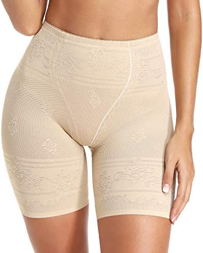 Womens Shapewear Shorts Tummy Control High Waist Panty Thigh Slimmer for Under Dresses