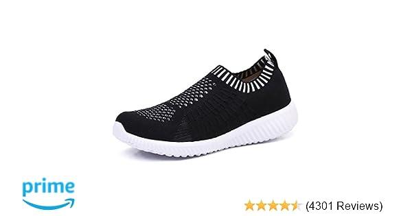 2e791561f7677 TIOSEBON Women's Athletic Walking Shoes Casual Mesh-Comfortable Work  Sneakers